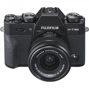 FUJIFILM X-T30 Mirrorless Kit + XC 15-45mm f/3.5-5.6 OIS PZ  - Negru3