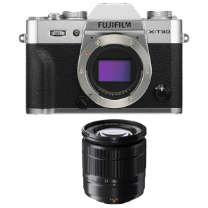 FUJIFILM X-T30 Mirrorless Kit + XC 16-50mm f/3.5-5.6 OIS II - Silver [0]