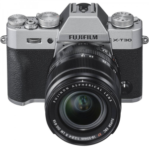 FUJIFILM X-T30 Mirrorless Kit + XF 18-55mm f/2.8-4 R LM OIS N - Silver2