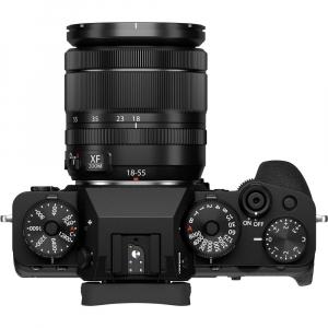 Fujifilm X-T4 Aparat Foto Mirrorless 26.1Mpx 4K/60fps X-Trans CMOS 4K KIT XF 18-55mm f/2.8-4 R LM OIS (black) si XF 16-55mm f/2.8 R LM WR6