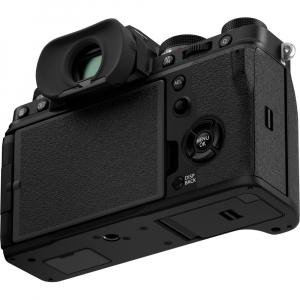 Fujifilm X-T4 Aparat Foto Mirrorless 26.1Mpx 4K/60fps X-Trans CMOS 4K KIT XF 18-55mm f/2.8-4 R LM OIS (black) si XF 16-55mm f/2.8 R LM WR7