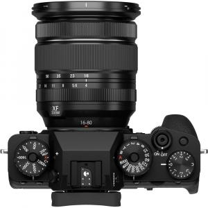 Fujifilm X-T4 (black) kit cu 2 obiective  XF 16-80mm f/4 R OIS WR (black) si XF 50-140mm f/2.8 R LM OIS WR5