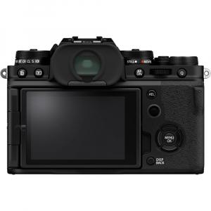 Fujifilm X-T4 Aparat Foto Mirrorless Body 26.1Mpx 4K/60fps X-Trans CMOS 4 (black) kit cu XF 16-55mm f/2.8 R LM WR3