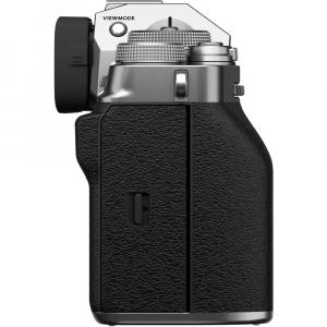 Fujifilm X-T4 Aparat Foto Mirrorless Body 26.1Mpx 4K/60fps X-Trans CMOS 4 (silver) kit cu XF 16-55mm f/2.8 R LM WR7