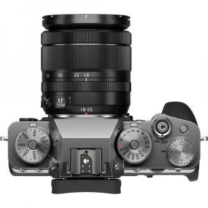 Fujifilm X-T4 Aparat Foto Mirrorless (silver) KIT  XF 18-55mm f/2.8-4 R LM OIS (black) si  XF 50-140mm f/2.8 R LM OIS WR5