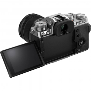 Fujifilm X-T4 Aparat Foto Mirrorless (silver) KIT  XF 18-55mm f/2.8-4 R LM OIS (black) si  XF 50-140mm f/2.8 R LM OIS WR8