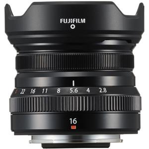 Fujifilm XF 16mm f/2.8 R WR black , obiectiv foto Mirrorless0