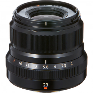 Resigilat: Fujifilm XF 23mm f/2 R WR , black - Resigilat [1]