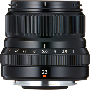 Fujifilm XF 23mm f/2 R WR , black2