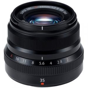 Resigilat: Fujifilm XF 35mm f/2 R WR - Black - Resigilat [0]