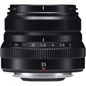 Resigilat: Fujifilm XF 35mm f/2 R WR - Black - Resigilat [1]