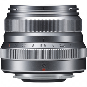 Resigilat: Fujifilm XF 35mm f/2 R WR - Silver - Resigilat [1]