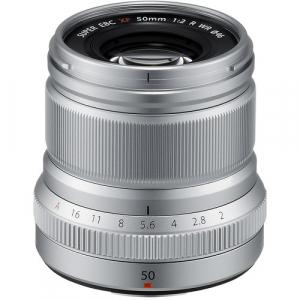 Fujifilm XF 50mm f/2 R WR - Silver0