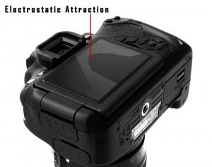 GGS LARMOR GEN 5 protectie din sticla pentru ecran + parasoalr ecran - Nikon D500/D600/D610/D750/D810/D8504
