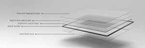 GGS LARMOR GEN 5 protectie din sticla pentru ecran + parasoalr ecran - Nikon D500/D600/D610/D750/D810/D8502