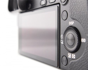 GGS LARMOR GEN 5 protectie din sticla pentru ecran + parasolar ecran - Canon 6D Mark II, 7D Mark II,80D, 90D, 70D, 77D, 700D, 750D, 760D, 800D5