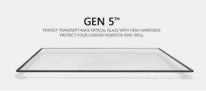 GGS LARMOR GEN 5 protectie din sticla pentru ecran + parasolar ecran - Fuji X-T10 / X-T20 / X-T300