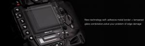 GGS LARMOR GEN 5 protectie din sticla pentru ecran + parasolar ecran - Olympus E-M1 / E-M5 MK II / M10 [1]