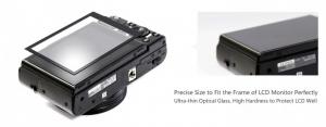 GGS LARMOR protectie din sticla pentru ecran - CANON EOS-M6, EOS-M50, EOS-RP2