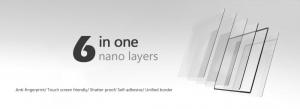 GGS LARMOR protectie din sticla pentru ecran - NIKON D5300 / D5500 / D56003