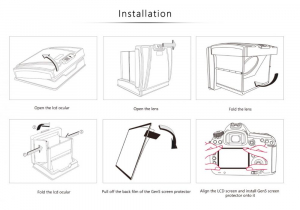 GGS MJ-N1 ocular LCD portabil 6