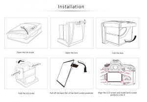 GGS MJ-ND850 ocular LCD portabil  [6]