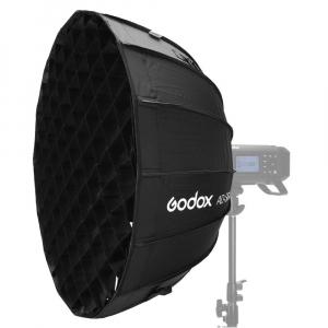 GODOX AD-S65S Softbox cu grid 65cm (AD400PRO) - Interior Argintiu [3]