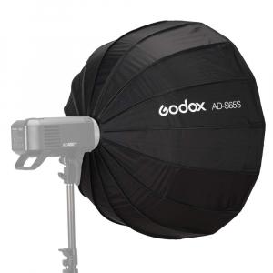 GODOX AD-S65W Softbox cu grid 65cm (AD400PRO) - Interior Alb1