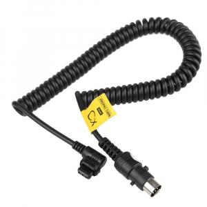 Godox CX cablu conectare blitz-uri Canon 600EX, 580EX II, 550EX si Godox  cu Power Pack-ul PB-9601
