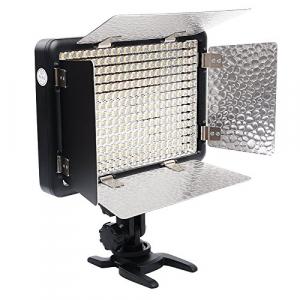 Godox LED308II c - lampa video cu voleti si telecomanda, 3300-5500K0