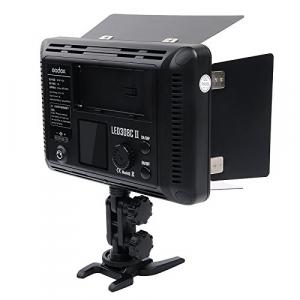 Godox LED308II c - lampa video cu voleti si telecomanda, 3300-5500K1