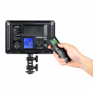Godox LED308II c - lampa video cu voleti si telecomanda, 3300-5500K2
