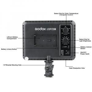 Godox LEDP120C - lampa video ultra slim [3]