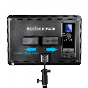 Godox LEDP260C- lampa video ultra slim5