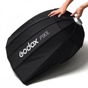 Godox P90L softbox parabolic 90cm + montura Bowens7
