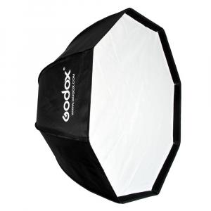 Godox SB-FW 120cm , softbox octogonal + grid + montura Bowens1