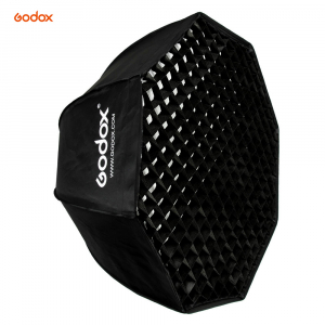 Godox SB-FW 120cm , softbox octogonal + grid + montura Bowens0