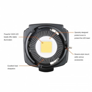 Godox SL-100W LED Video Light - montura Bowens , 5600K5