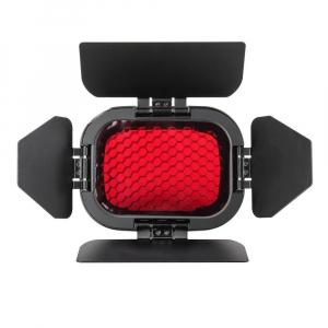 Godox Speedlite Color BD-07 - Grid cu voleti si filtre pentru AD2003