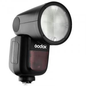 Godox V1-C , blitz cu cap rotund - TTL Li-Ion - Canon E-TTL II2