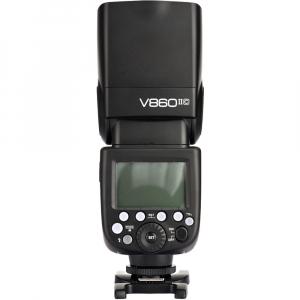 Godox Ving V860C II kit blitz 2.4G Wireless E-TTL pentru Canon, numar director 604