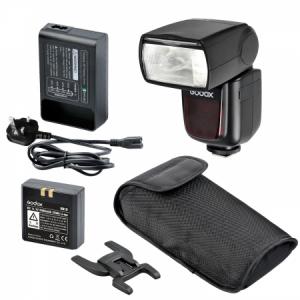 Godox Ving V860C II kit blitz 2.4G Wireless E-TTL pentru Canon, numar director 600