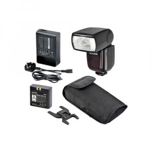 Godox Ving V860N II kit blitz 2.4G Wireless i-TTL pentru Nikon, numar director 600