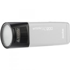 Godox Witstro H200R - Cap Flash Rotund pentru  AD200 TTL2