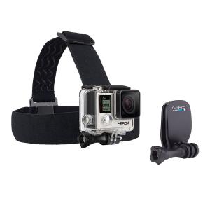 GoPro Head strap + clip  ACHOM-001 - sistem prindere camera , pe cap [0]