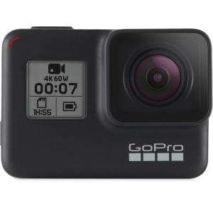 GoPro Hero 7 Black - Special Bundle Kit, Rezistent la apa, 4k60/1080p2402