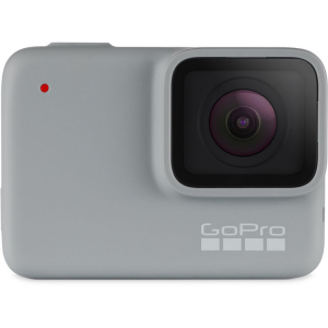 GoPro Hero 7 White - Comenzi vocale, Stabilizare video, Rezistent la apa,Touch Screen Intuitiv, Full HD0