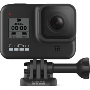 GoPro Hero 8 Black - Comenzi vocale, Stabilizare video, Wi-Fi, GPS, Rezistent la apa, 4k60/1080p2405