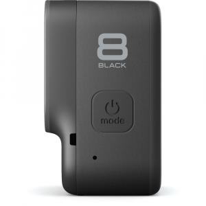 GoPro Hero 8 Black - Comenzi vocale, Stabilizare video, Wi-Fi, GPS, Rezistent la apa, 4k60/1080p2404