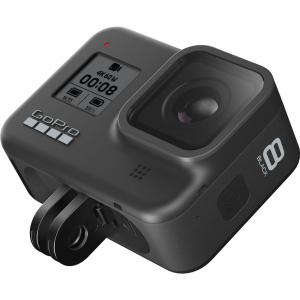 GoPro Hero 8 Black - Comenzi vocale, Stabilizare video, Wi-Fi, GPS, Rezistent la apa, 4k60/1080p2407